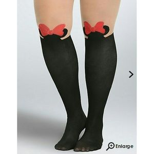 TORRID Minnie Mouse Tights